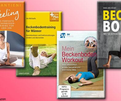 Ob Beckenbodenübungen gegen Inkontinenz oder Training der Beckenbodenmuskulatur für den Orgasmus: hier gibt's die besten Beckenbodentraining Bücher.